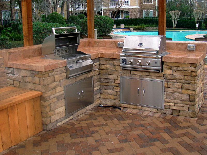 Greecian pools bakersfield ca outdoor kitchens for California outdoor kitchen designs