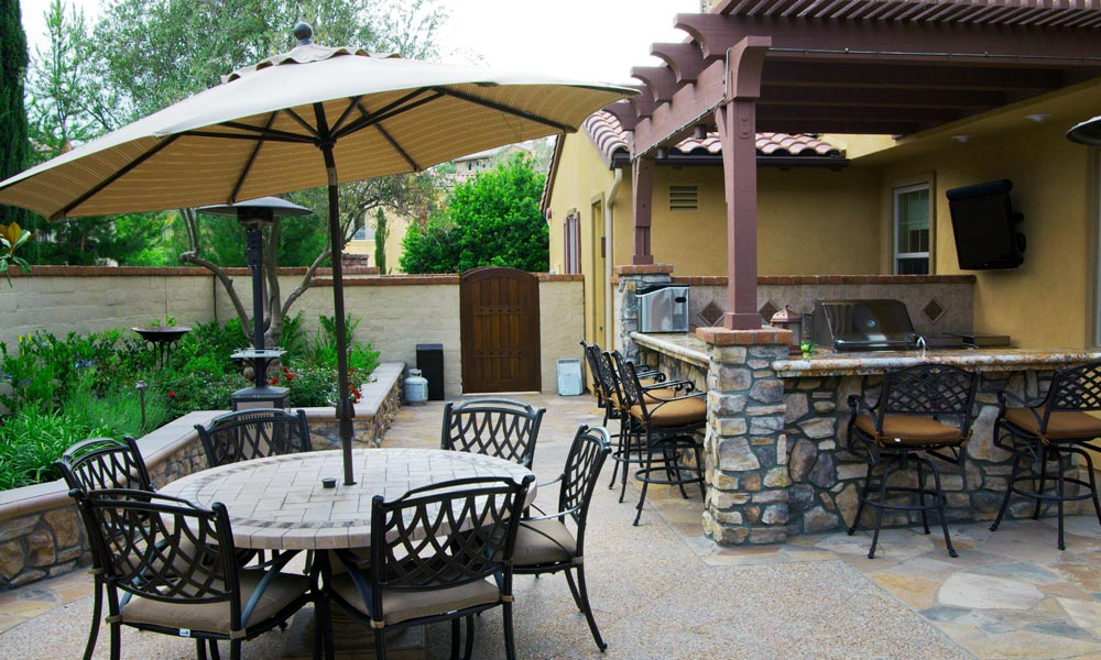 Greecian Pools Bakersfield Ca Outdoor Kitchens