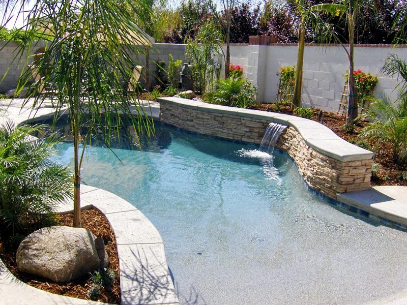 Bakersfield Ca Walk In Beach Entry Pools