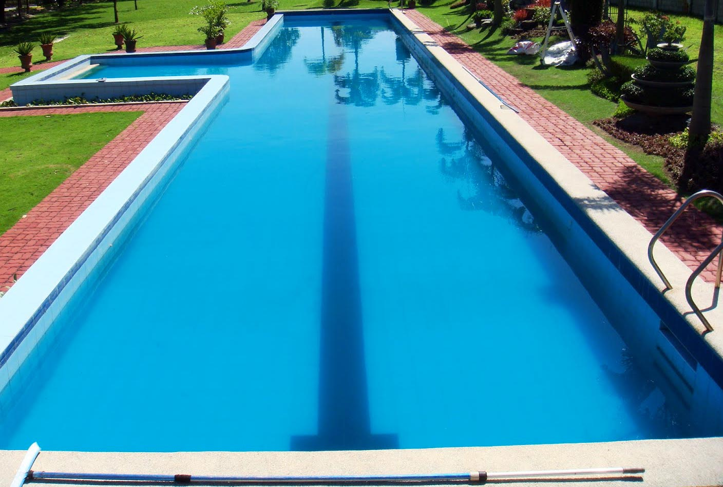 Greecian pools bakersfield ca lap exercise swimming pools for How to swim laps in small pool